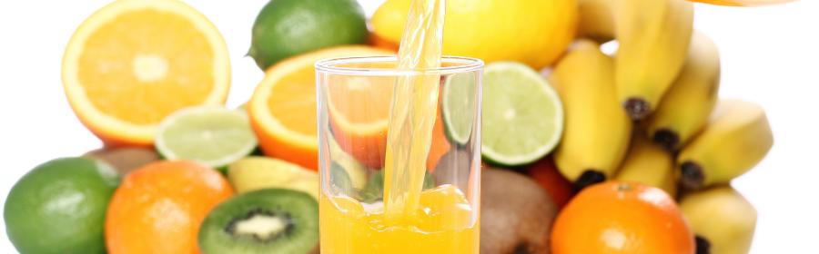 Sapjes dieet - fruitsap met verschillende fruitsoorten