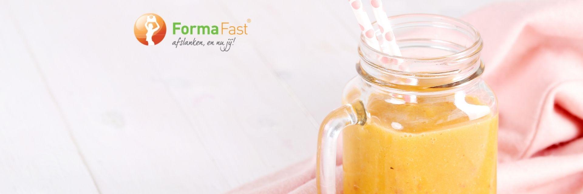 FormaFast dieet afvallen met maaltijdvervangers